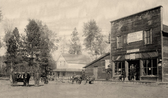Arden Mercantile and Post Office (shared by Don Hall)